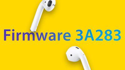 AirPods Firmware Update again