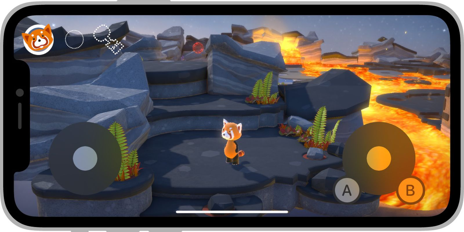 Apple Makes New On-Screen Game Controller Available to Developers on iOS 15 and iPadOS 15