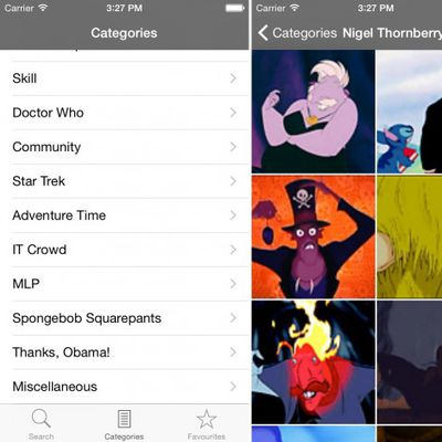 GIF Finder for iOS iPhone screenshot 001