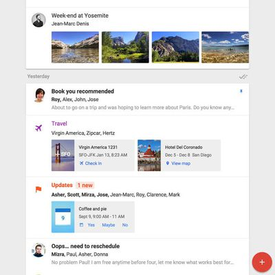 Inbox by Gmail for iPad