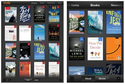 kindle 3 0 library ipad iphone