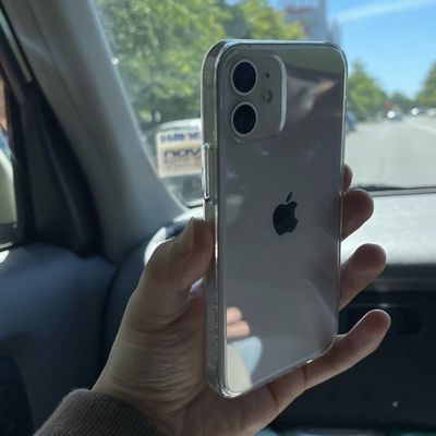 iphone 12 mini in hand
