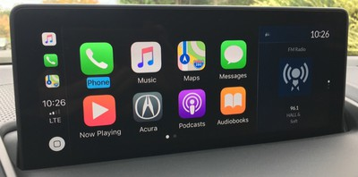 acura rdx carplay home