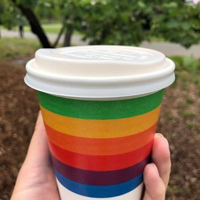 rainbow cup apple