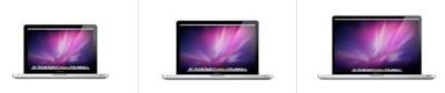 233529 macbook pros 2010 three sizes