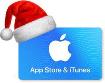 santa itunes gift card