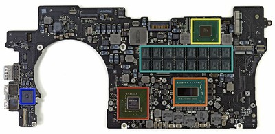 retina macbook pro logic board