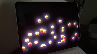 ipad pro xdr display blooming