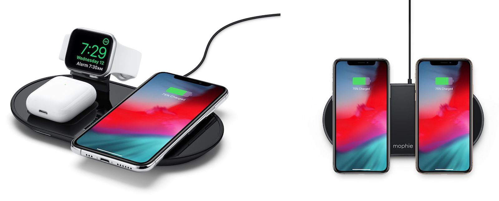 Mophie 3 In 1 Wireless Charging Pad And Dual Wireless Charging Pad Review Macrumors Mophie wireless charge pad drive and charge: mophie 3 in 1 wireless charging pad and