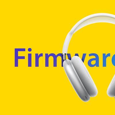 airpods max firmware update