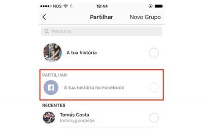 instagram to facebook stories