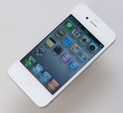 113858 white iphone 4 front