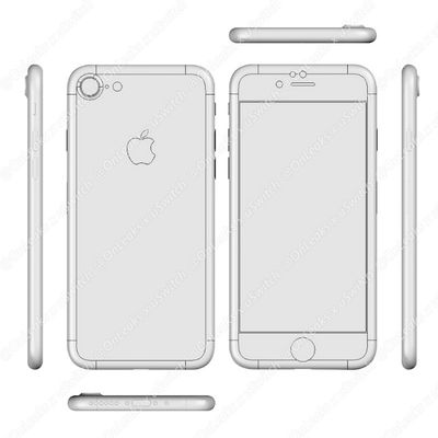 iPhone 7 CAD