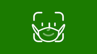 FaceID Masked Green Dark
