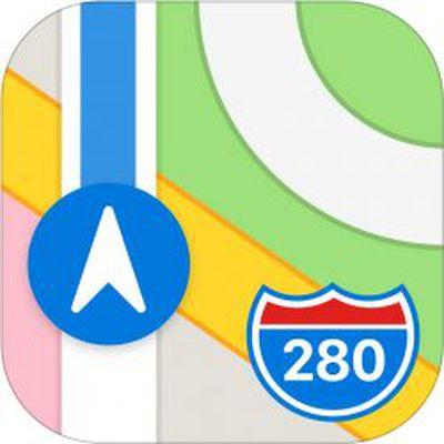 apple maps icon ios 13