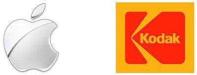 apple old kodak logos