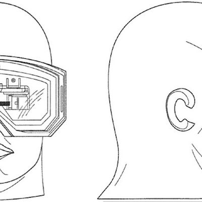 apple patent video goggles