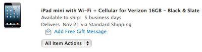 ipad mini cellular nov21