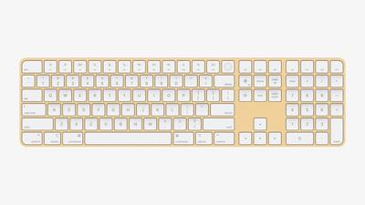magic keyboard numeric keypad touch id