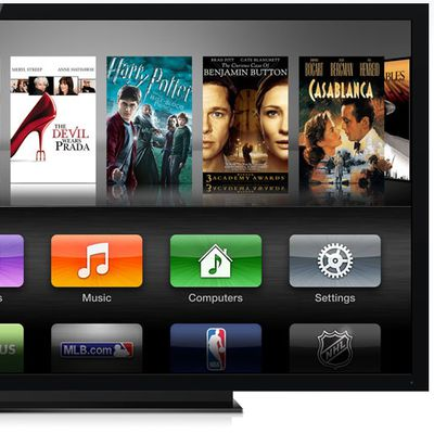 apple tv interface 2012