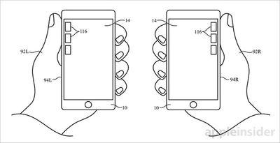 Handedness detection patent