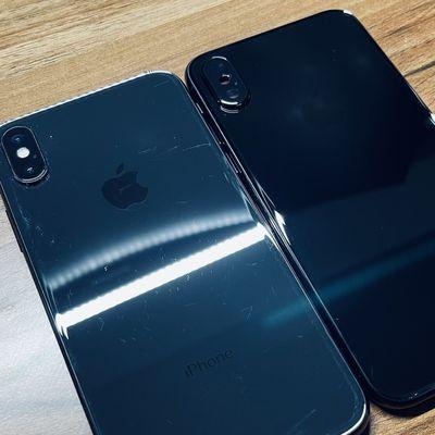 jet black iphone x