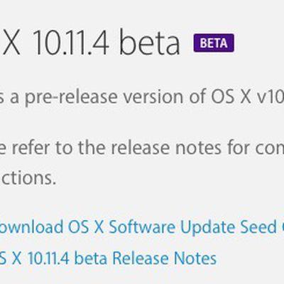 os x 10 11 4 beta 1