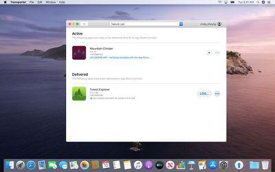 transporter mac app