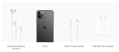 iphone 11 pro what in box