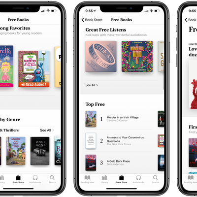 Apple Books Free Books and Audio Books Promo