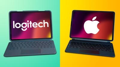 Logitech v Apple Folio Keyboard feature