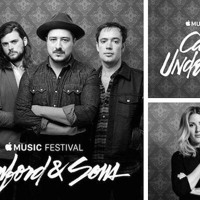 2015 Apple Music Festival Ellie Goulding