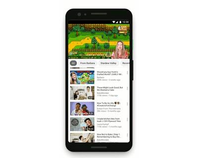 youtubetaprecommendations