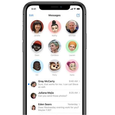 messages pinned conversations ios 14