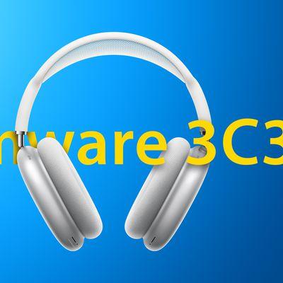AirPods Max Firmware Update Blue