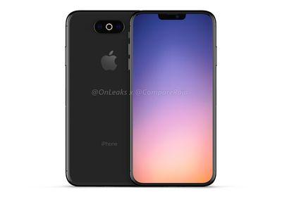 iphone 2019 triple rear render