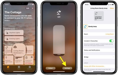 using homekit to control devices