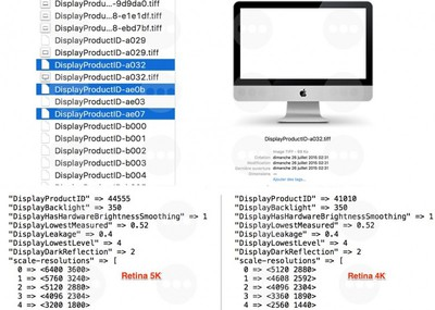 imac display code