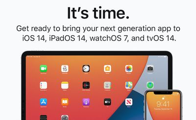 ios 14 submit apps banner