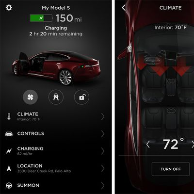 tesla app version 3
