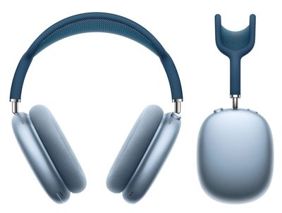 airpods max in blue