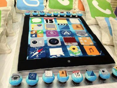 telstra ipad cake