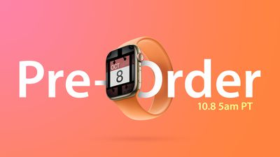 apple watch 7 preorder time