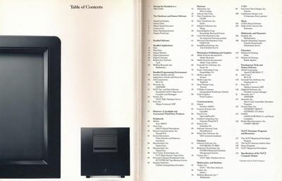 NeXT catalog 3