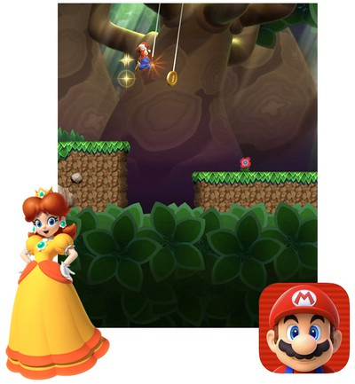 super mario run princess daisy