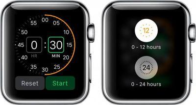 Apple Watch Timer