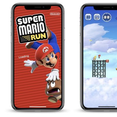 super mario run iphone x