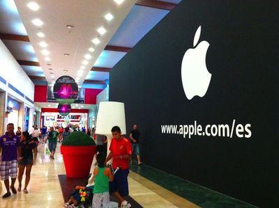 apple store parquesur