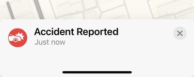 accidente reportado ios 14 5