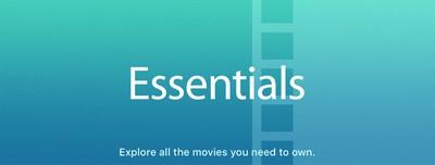 itunes movie sales essentials